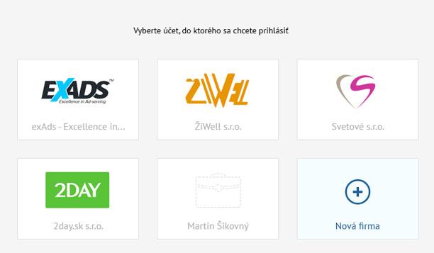 zoznam existujúcich firiem